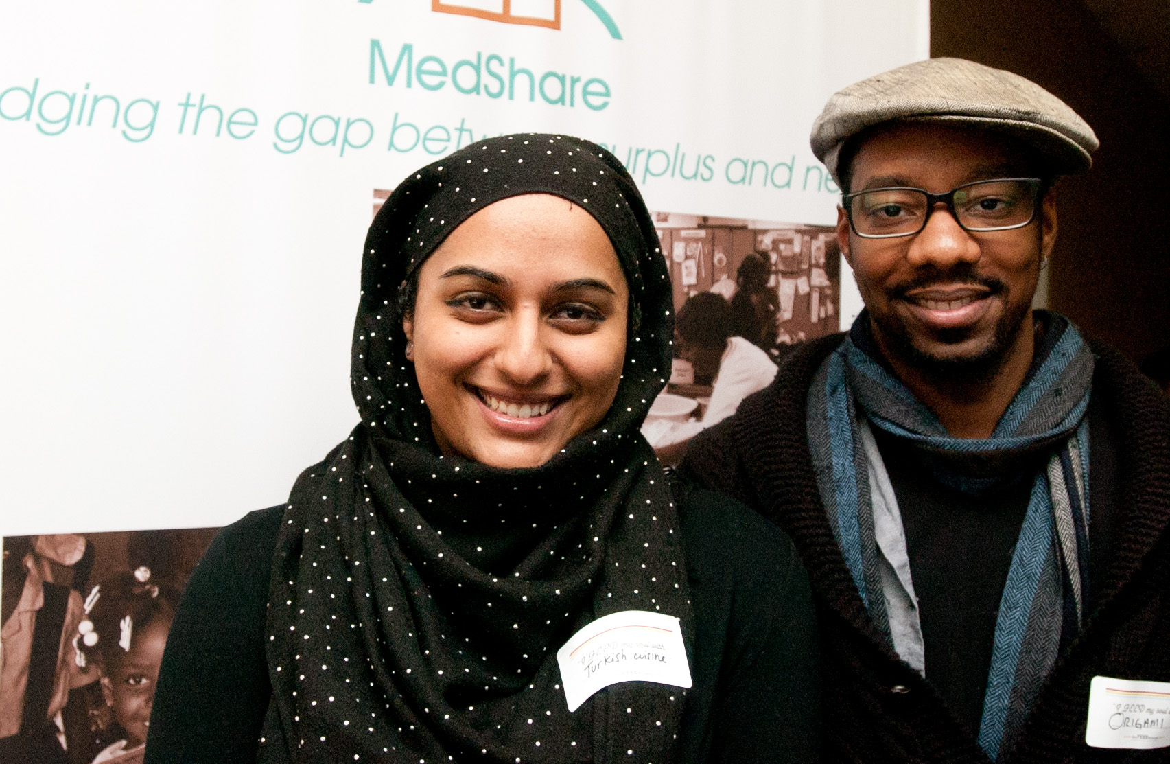 MEET Clint and Sana: interfaith workers and medical supply crafters