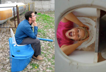 MEET Andrew & Emily: local entrepreneurs and self-proclaimed poop managers
